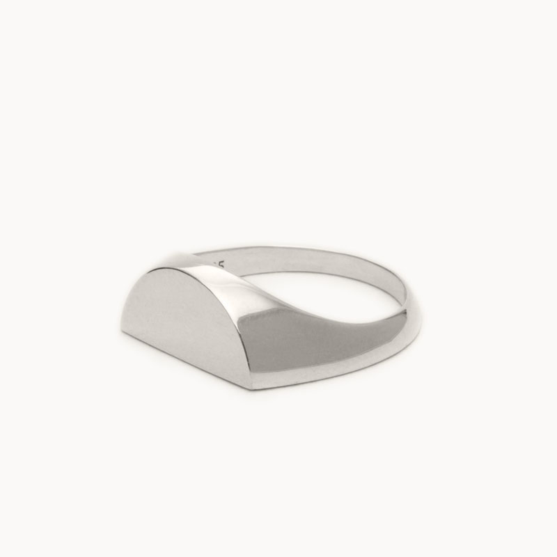 Half Signet Pinky Ring|ピンキーリング – art.1607P011010S