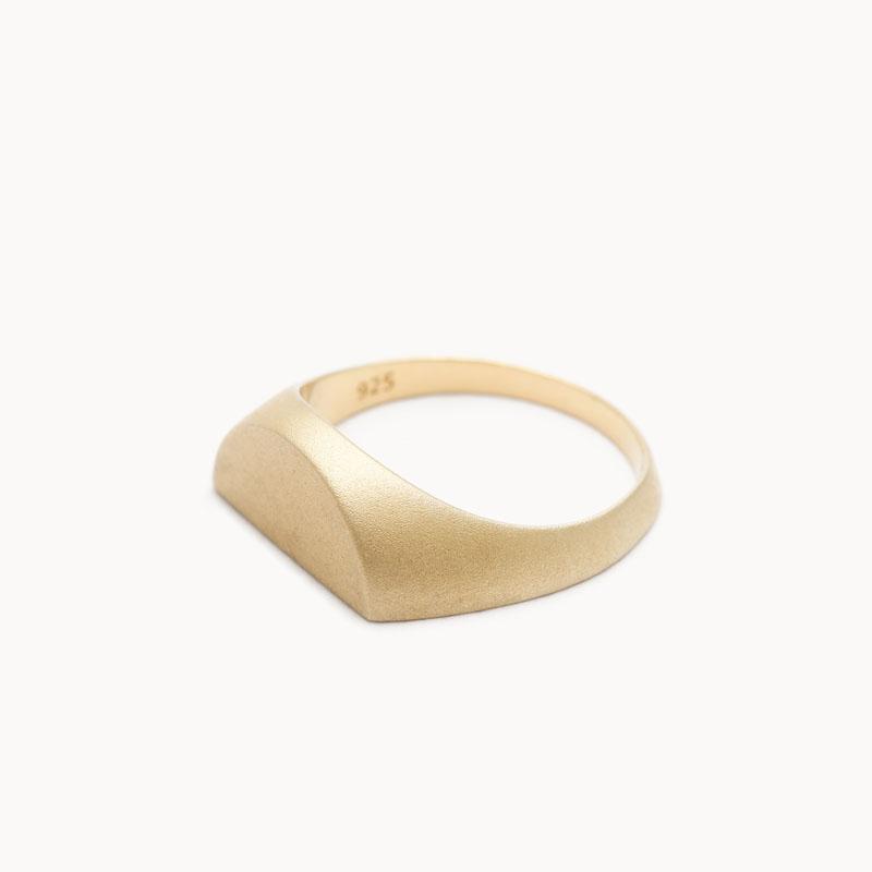 Half Signet Pinky Ring|ピンキーリング – art.1607P011020S