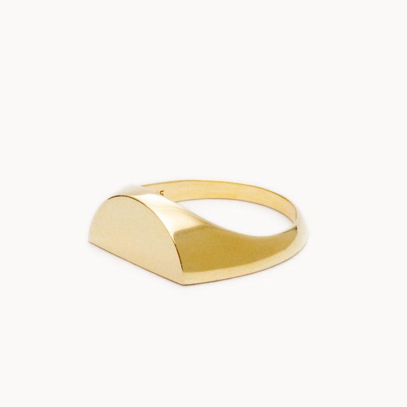 Half Signet Ring|リング – art.1607R011020L