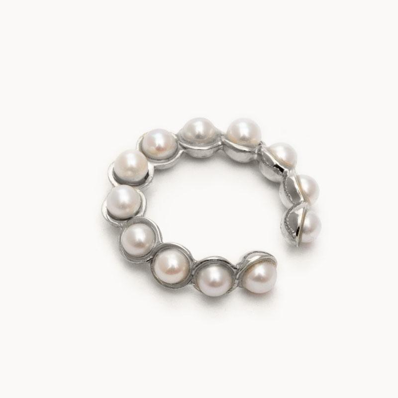 Pearl Ear Cuff M|イヤーカフ – art.1803C011040