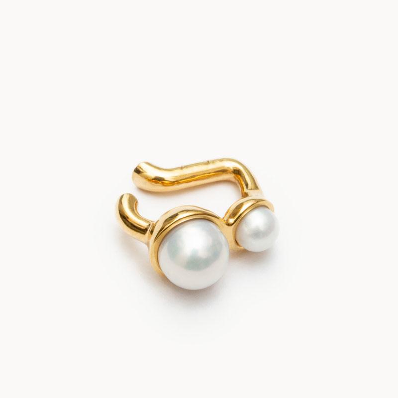Pearl Ear Cuff S|イヤーカフ – art.1803C111020