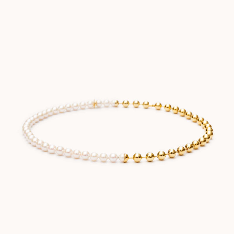 Ball Chain / Pearl Necklace|ネックレス – art.1803N091020
