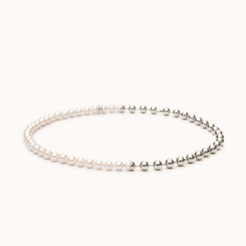 Ball Chain / Pearl Necklace|ネックレス – art.1803N091040