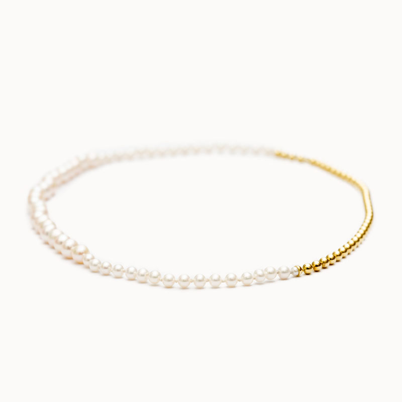 Ball Chain / Pearl Necklace|ネックレス – art.1803N131020
