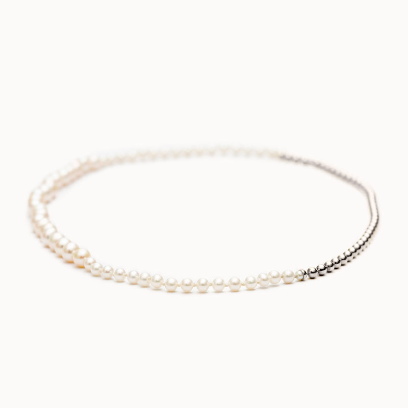 Ball Chain / Pearl Necklace|ネックレス – art.1803N131040