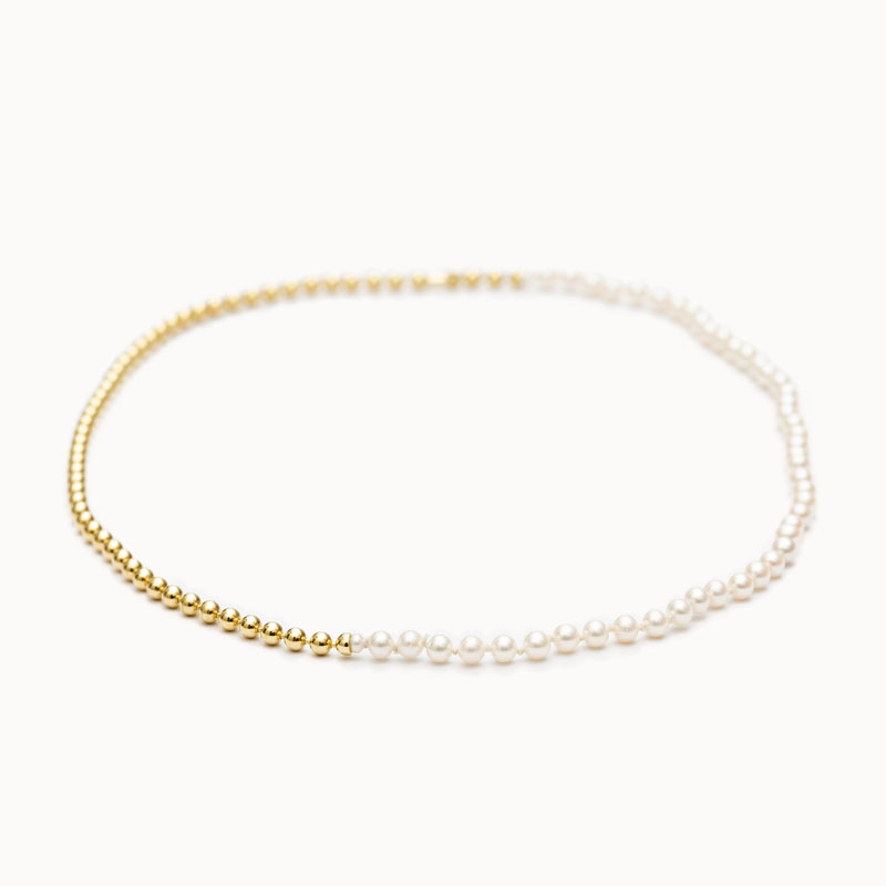 Ball Chain / Pearl Necklace|ネックレス – art.1803N151020