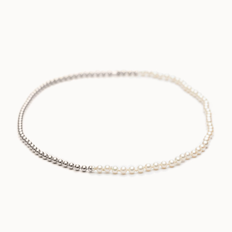 Ball Chain / Pearl Necklace|ネックレス – art.1803N151040